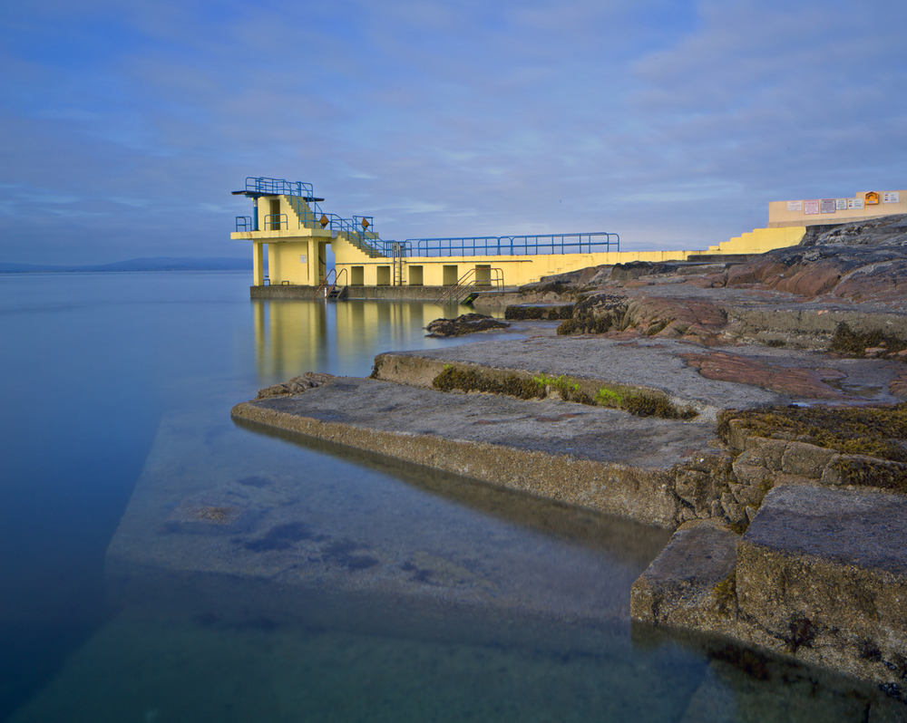 Early Morning at Blackrock Diving Platform, Salthill, Galway
