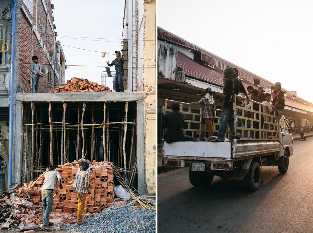 How to transport a pile of bricks from the ground floor to the second floor: Put a brick on the end of a long stick then fling upwards