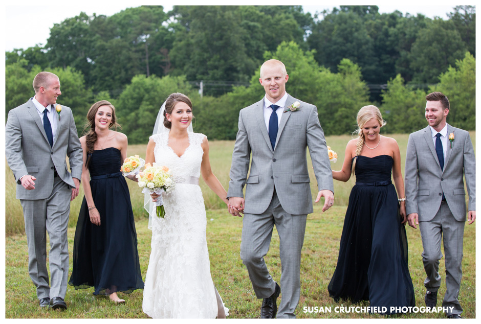 Carrollton, GA Wedding Party Portraits