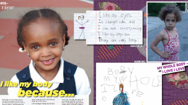 In our first issue of Interrupt we asked 8-year-old girls what they like about their bodies. Photographs by Marie C.