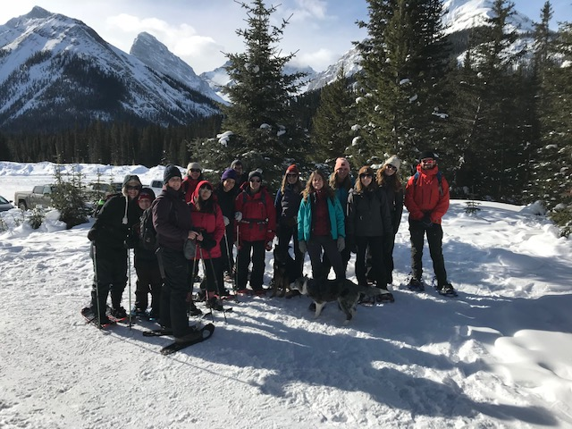2018 Snowshoe trek with The Commons, 80/20 Hub, Play City and a crew of adventurers!  Chester Lake Trail