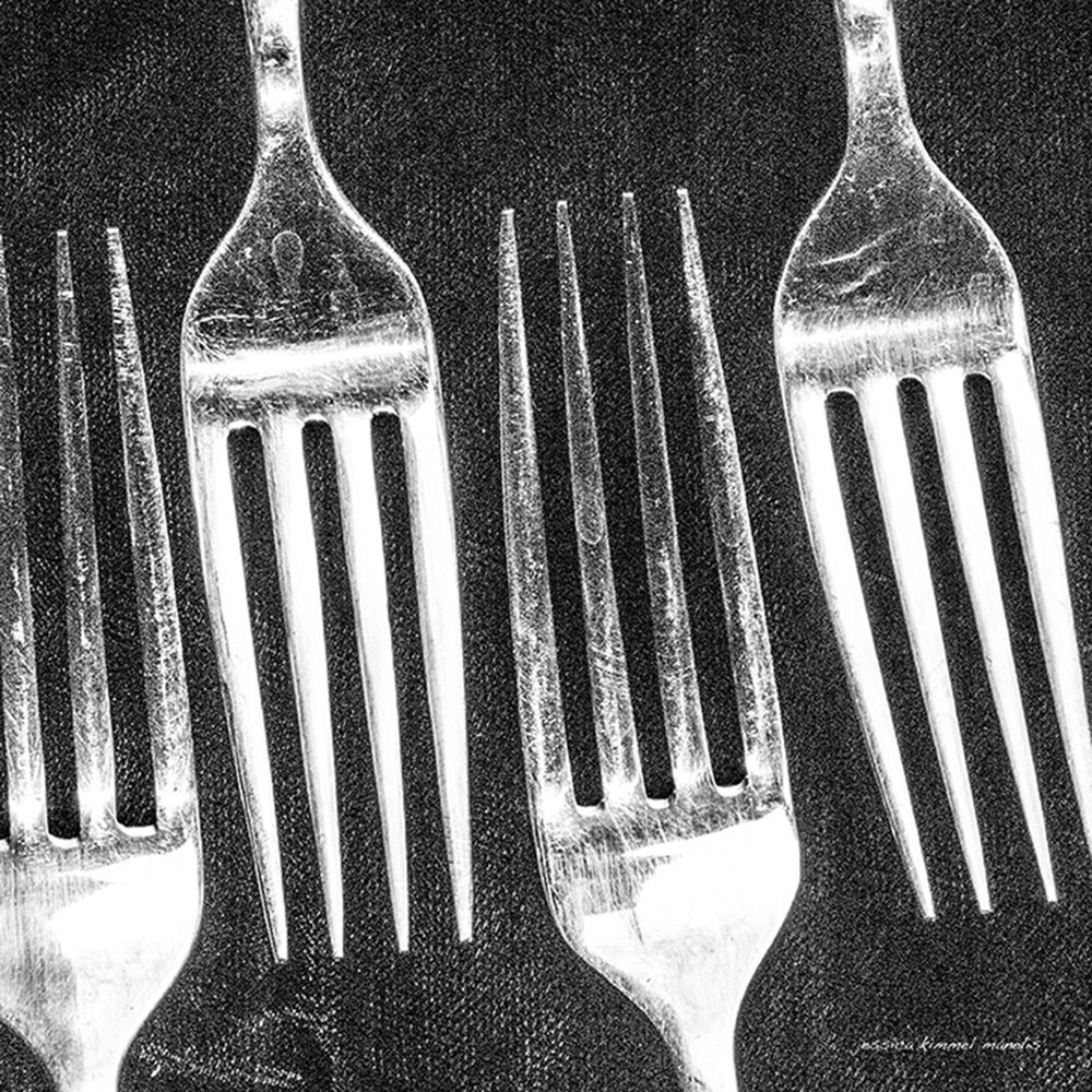 Forks from when the weather was not cooperating.