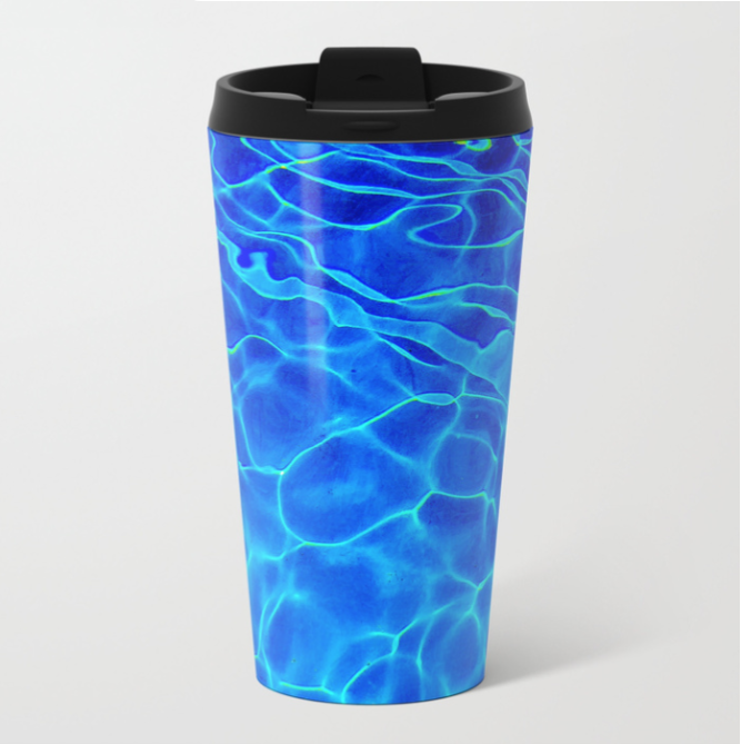 Their favorite brew can go mobile too! - On they way to class, travel mugs travel! Shop here!