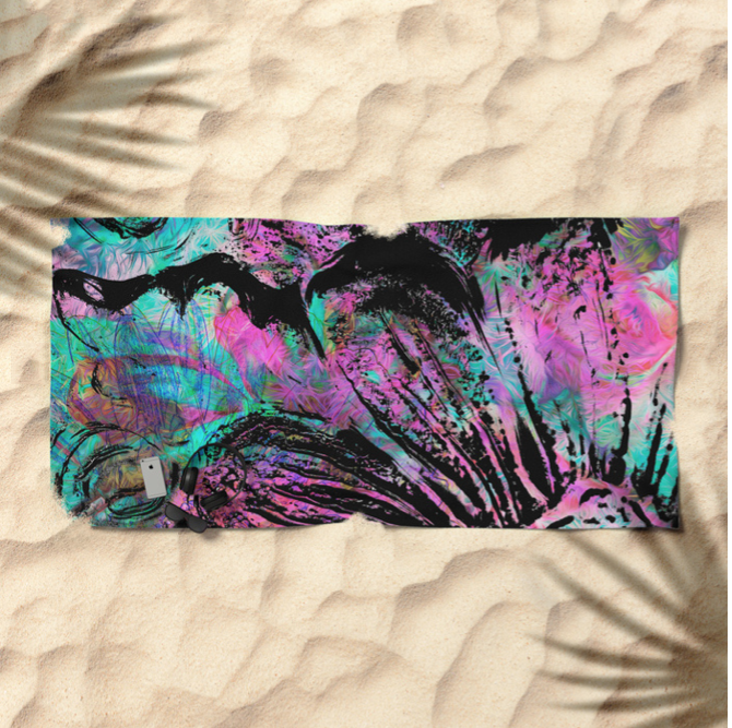 A well deserved vacation - deserves an amazing way to lay in the sand.  Grab beach towels here!