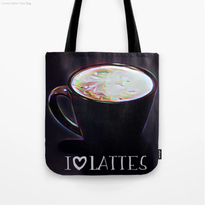 Loving lattes - They can carry it with them too!