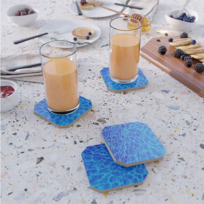 Coasters - Add a pop of color