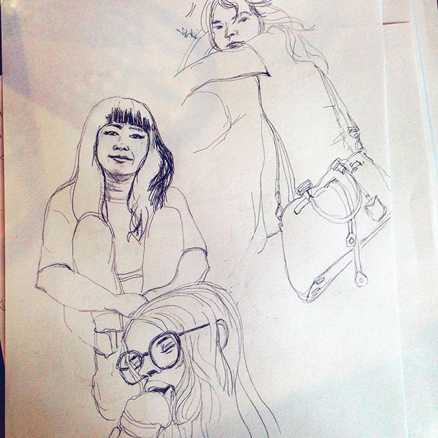 Drawing Women...... ...... ....... #illustration #illustrator #womenrule #womensrights #womenpower #womensfashion #womenempowerment #drawing #portrait #womenshealth