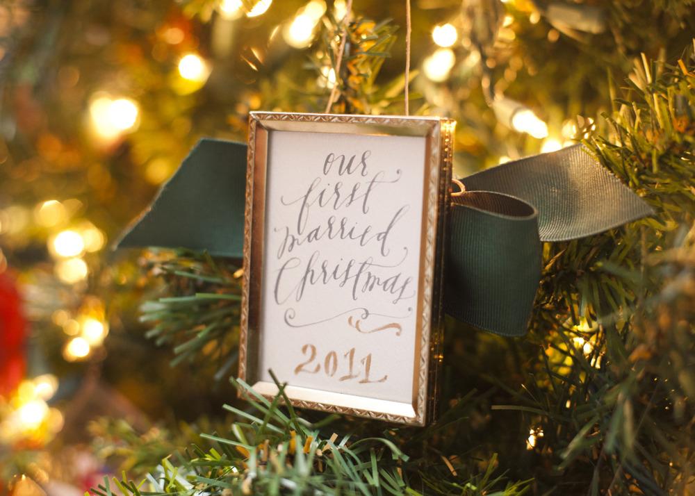 Christmas Ornament — Feast Fine Art & Calligraphy
