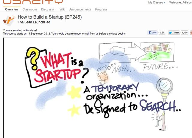 """Curso com 9 aulas gratuítas sobre """"Como construir sua Startup"""" com Steve Blank @ sgblank"""