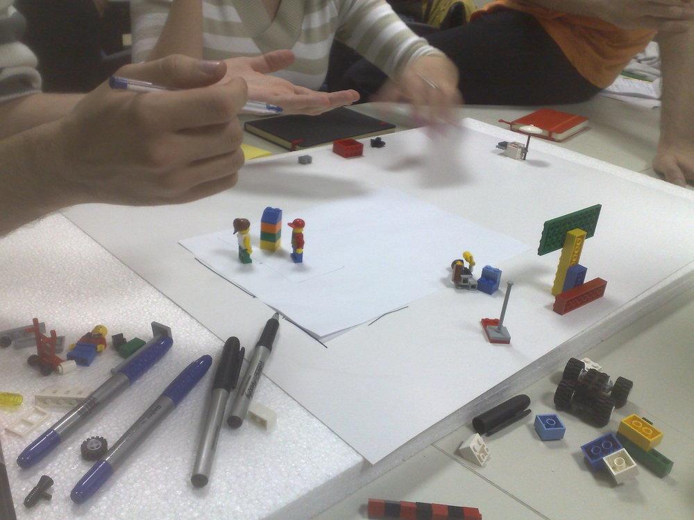 Day 6 - #DesignThinking and #Innovation - #Prototyping @dtespm w/@LuisAlt @TennyDesign