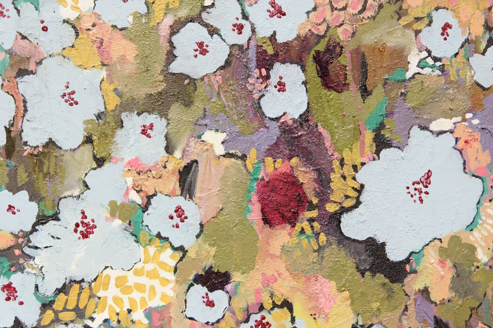 Flowers -Audrey (acrylic)