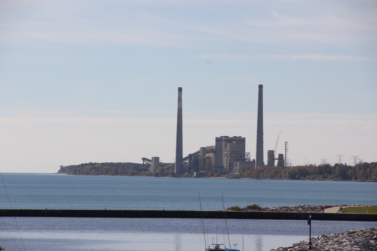 The coal-fired Edgewater Generating Station mars an otherwise beautiful Lake Michigan coastline in Sheboygan.