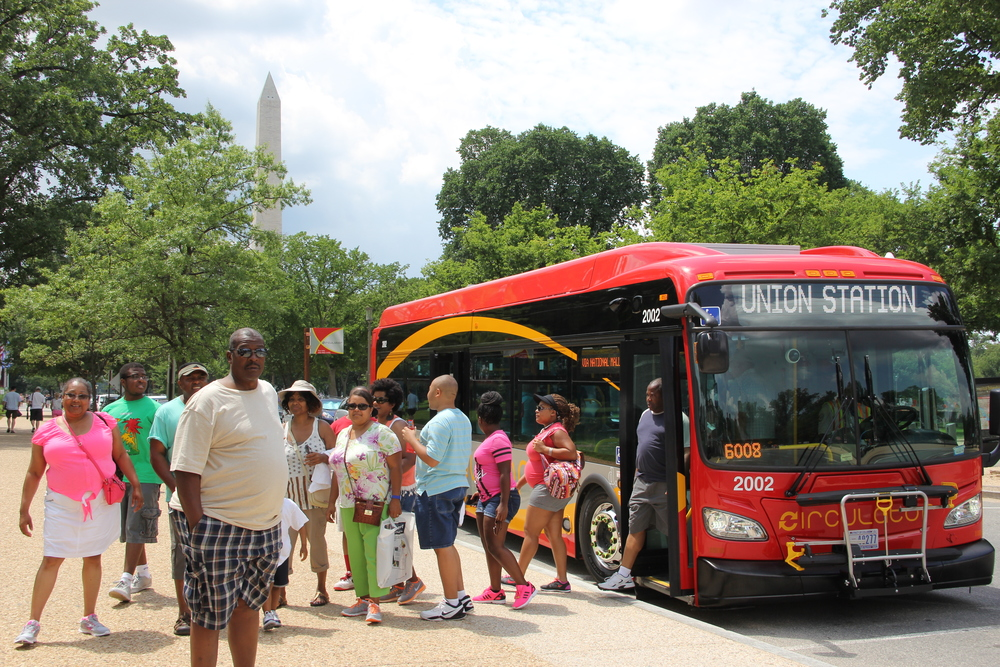 National Mall Circulator Bus