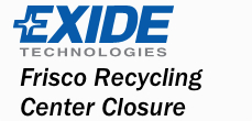Frisco Recycling Center Closure