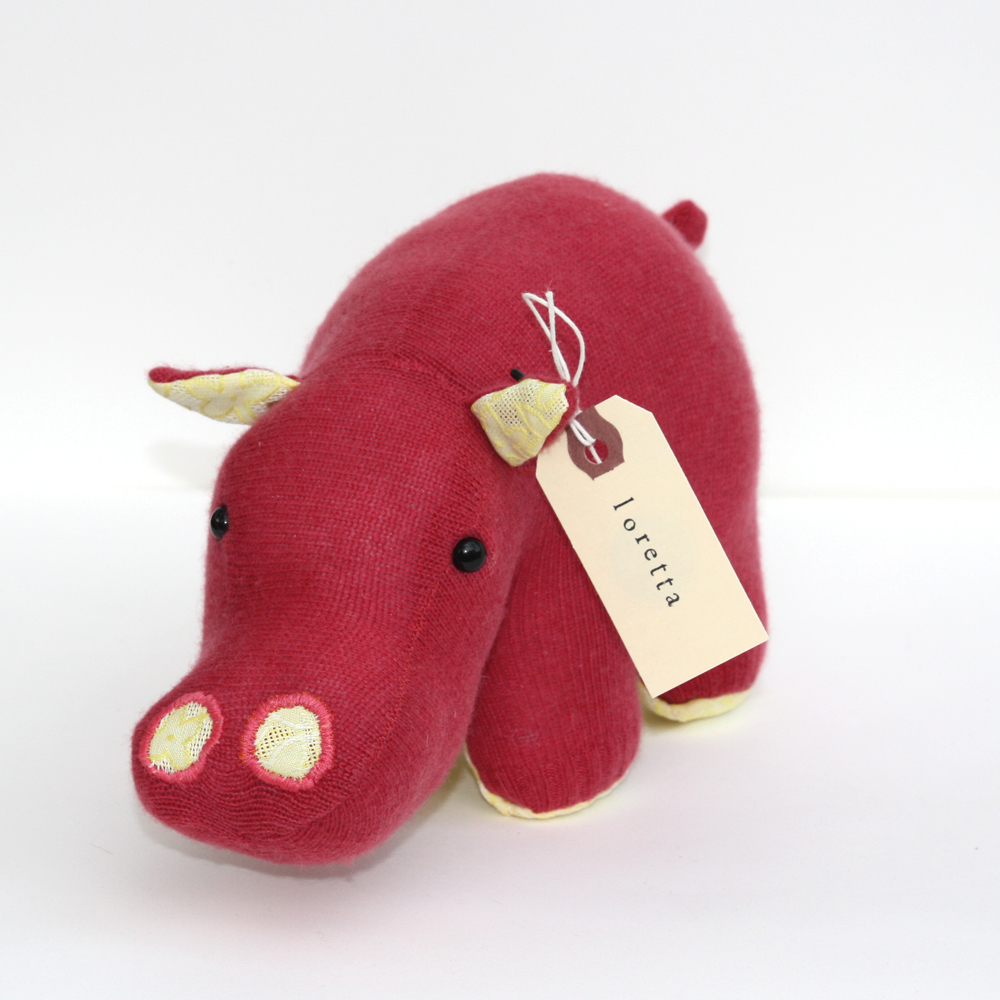 Rhubarb & Custard Hippo