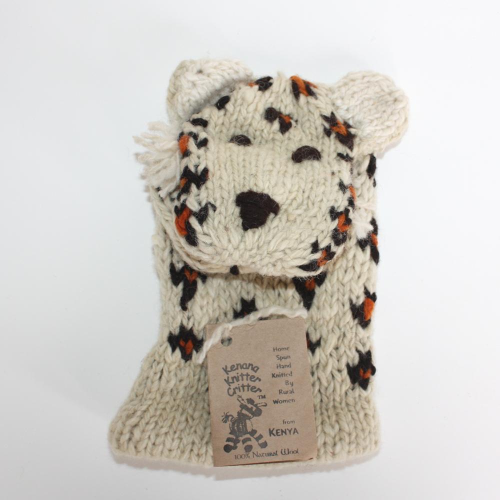 Kenyan Leopard Glove Puppet