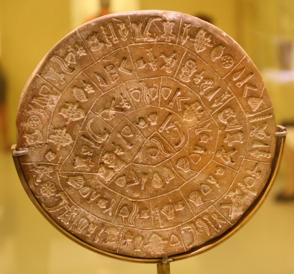 Phaistos Disk from Crete