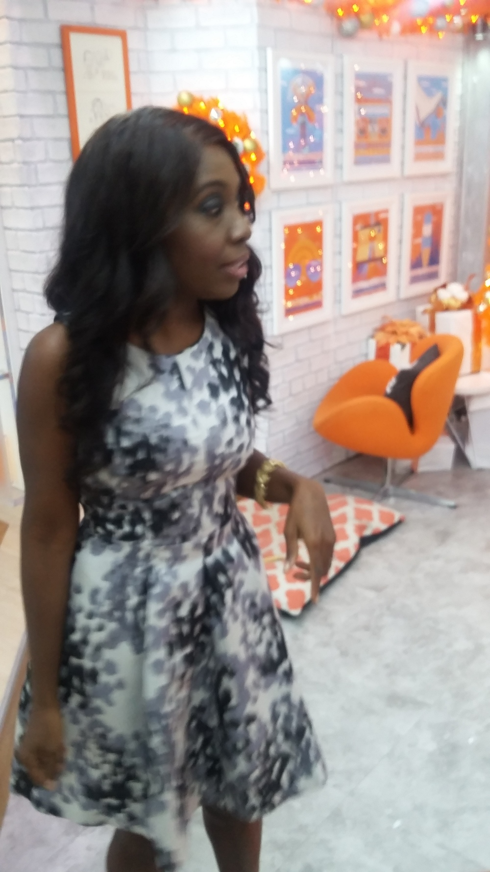 In the Orange Room at TODAY Show