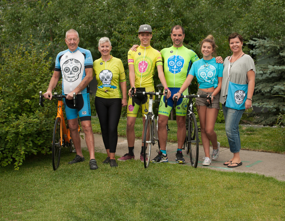 The Bici bucerias family July 2016