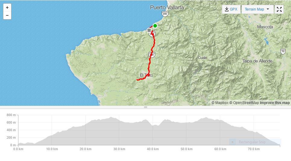 bucerias y puerto vallarta tour ciclismo - puerto vallarta a el tuito y más allá - épico!
