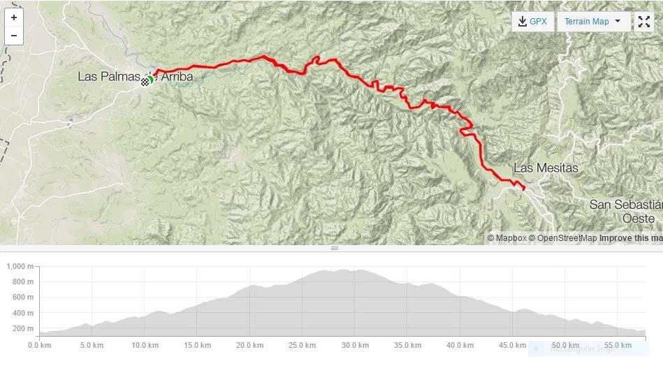 puerto vallarta and bucerias road bike tour - las palmas to la estancia