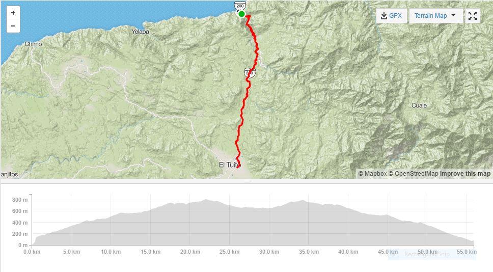 bici bucerias puerto vallarta road bike tour | el tuito