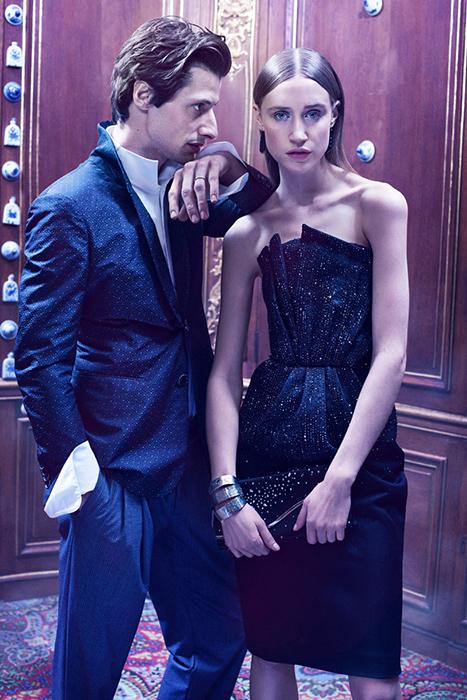Giorgio Armani special for Madame Figaro