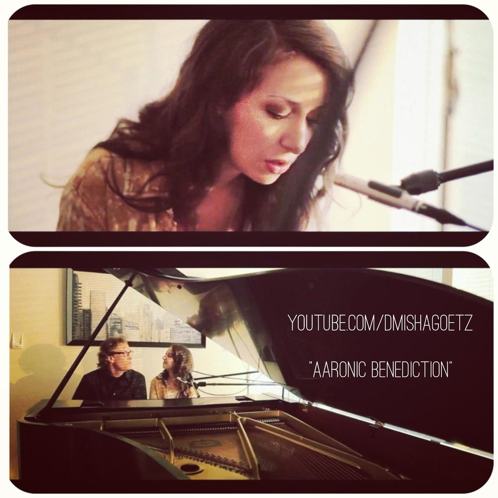 """""""Aaronic Benediction"""" Performed by Misha and Marty Goetz"""