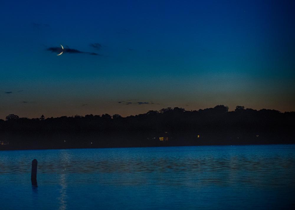 Waxing Crescent September Moon