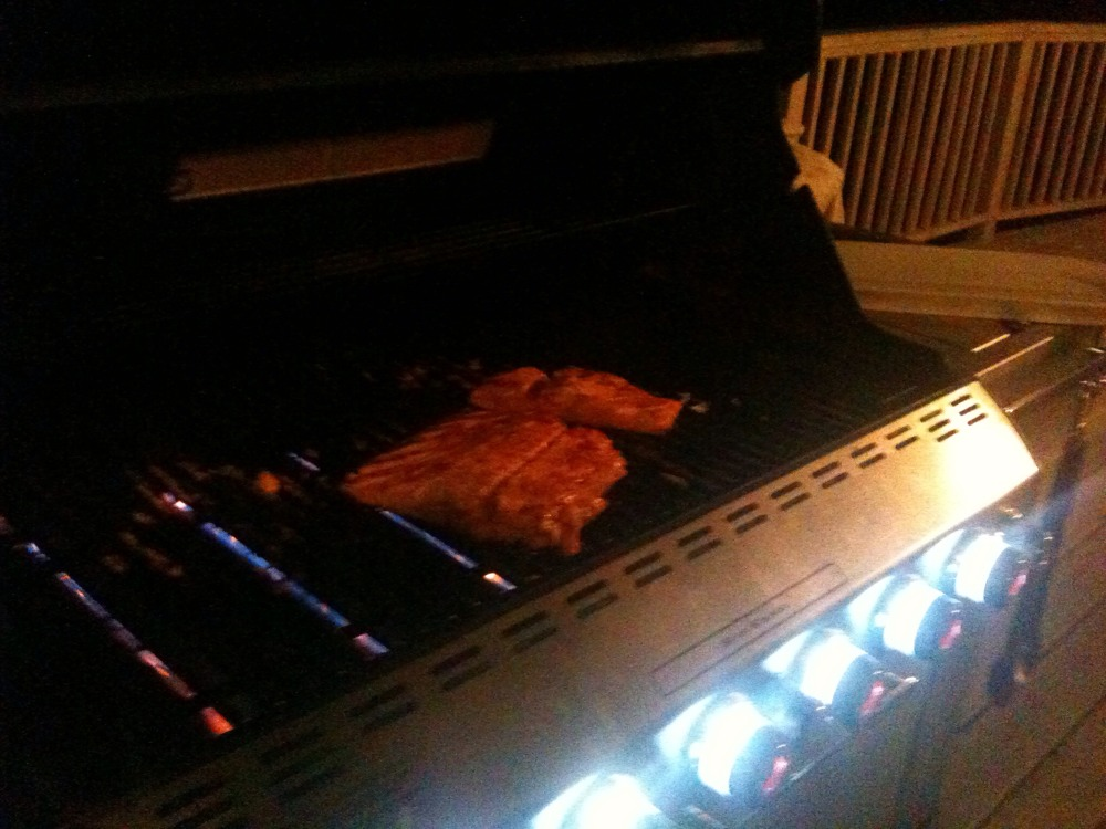 Fish fry ..no way ..grilled salmon is the official Friday night feast
