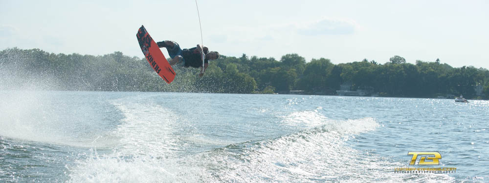 Wake Boarding on Beulah