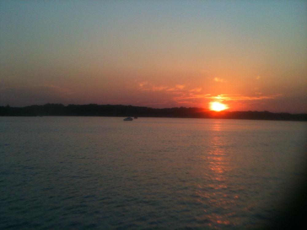 8: 10 Sunset