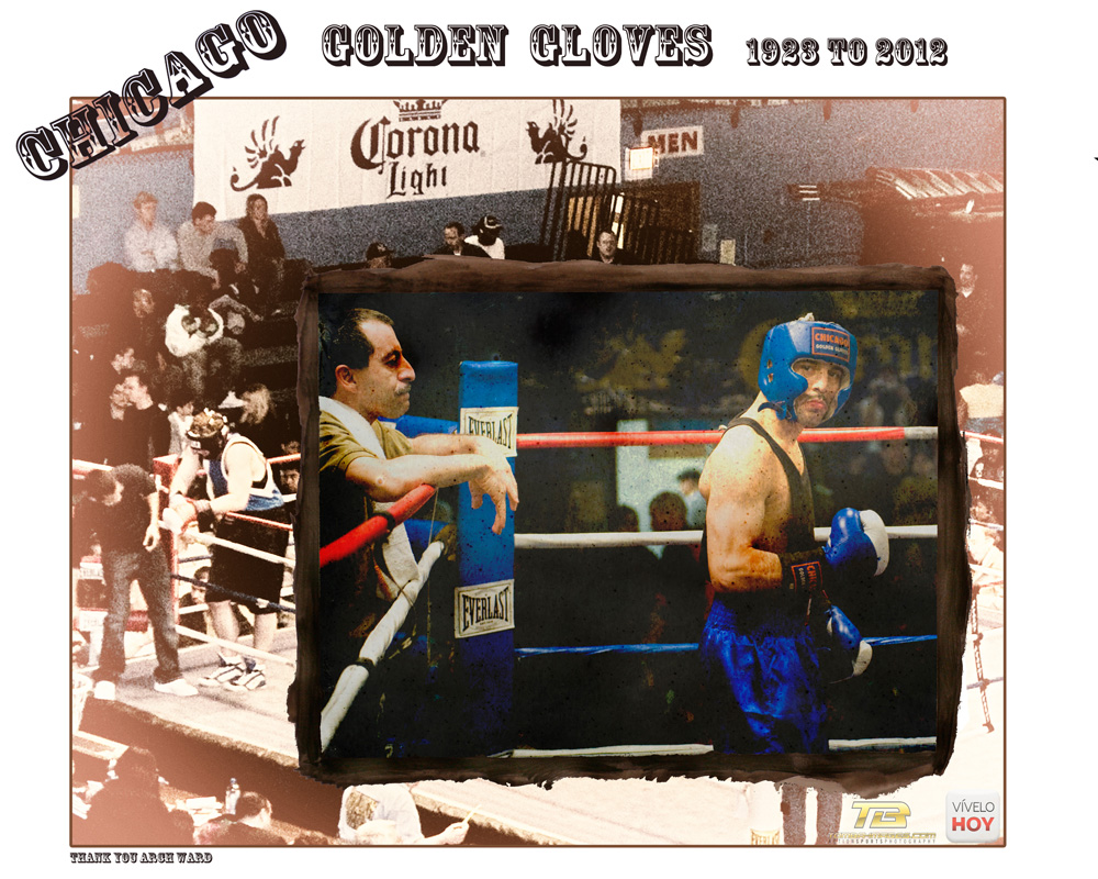 2012 Chicago Golden Gloves Commemorative Print