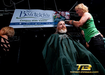 Fighting for a Cure ..St. Baldricks posting