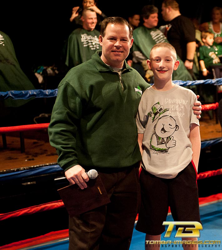 "St. Baldricks ""fight for a cure"""