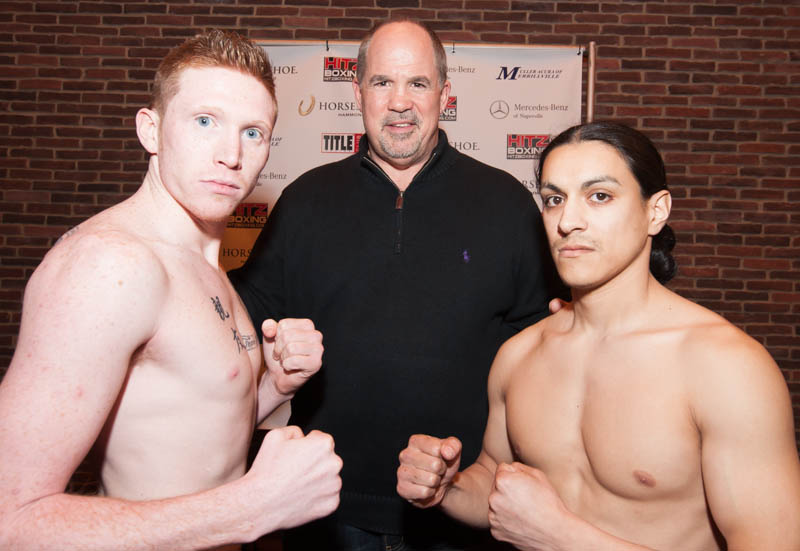 Hitz Boxing Presents the Weigh-In at the Horseshoe Casino