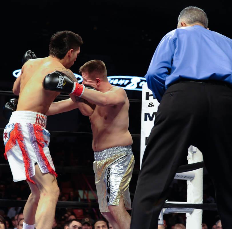 8 Count / Round Three ESPN Fight Night Quick Picks