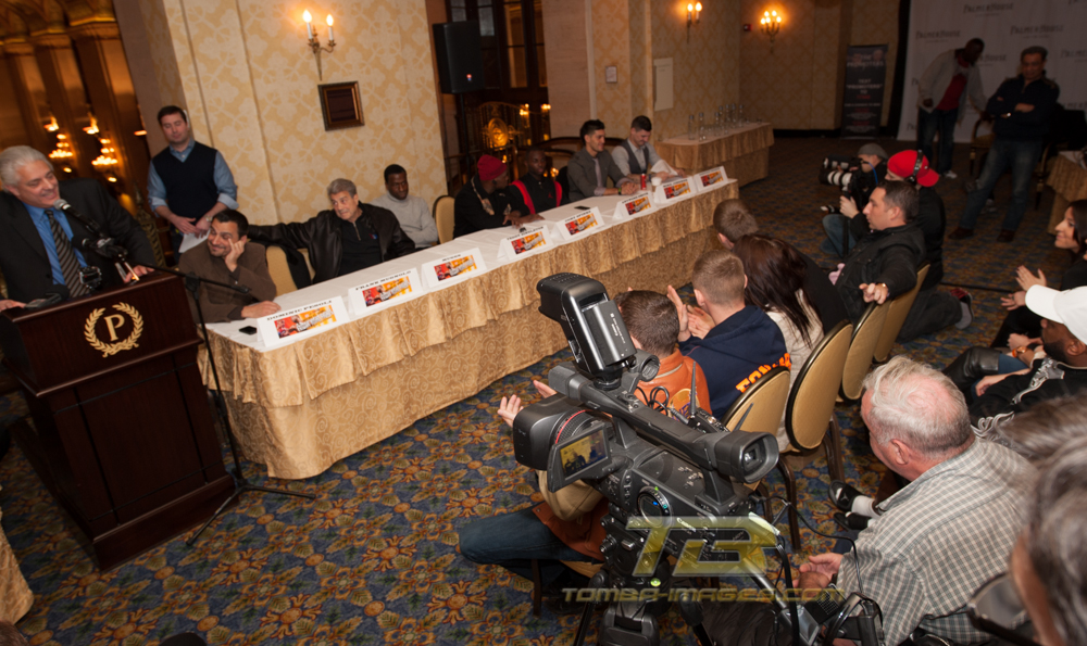 "8 Count / Round Three ESPN ""fight night"" Press Conference"