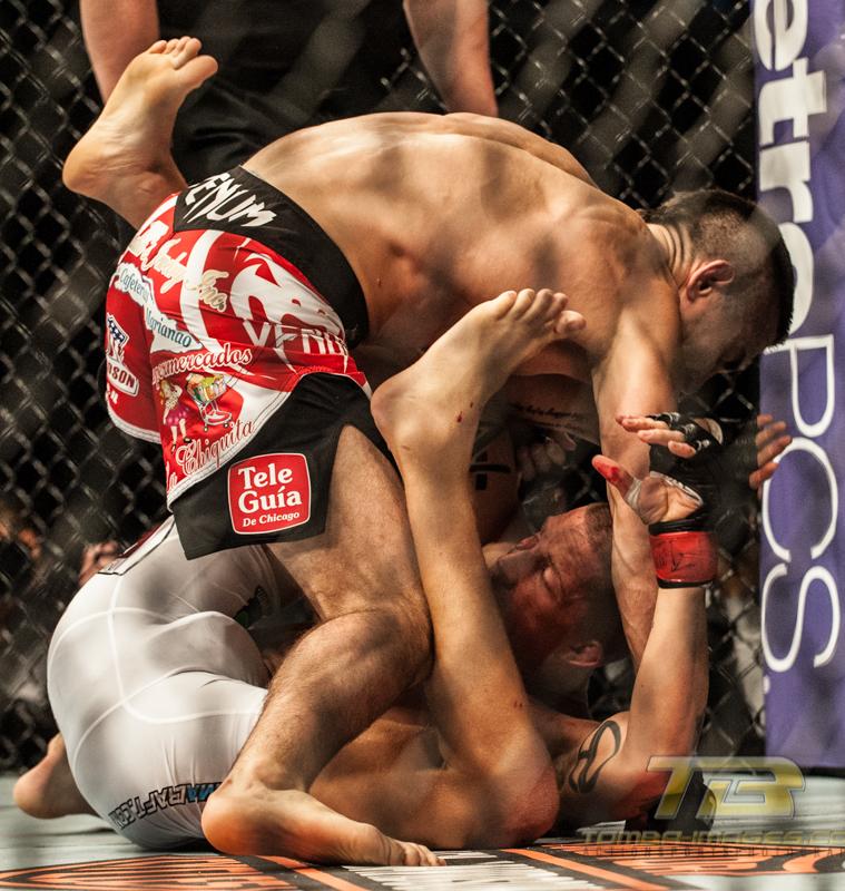 UFC Featherweight Match ..Ricardo Lamas vs Erik Koch