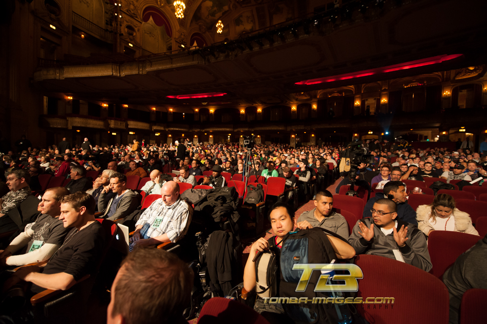UFC Weigh-In's at the Chicago Theater  ..Part 1 of 2 parts