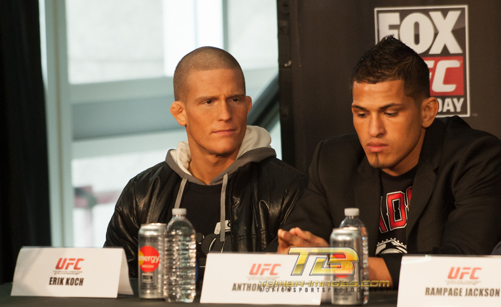 UFC on Fox Press Conference ....Chicago's United Center