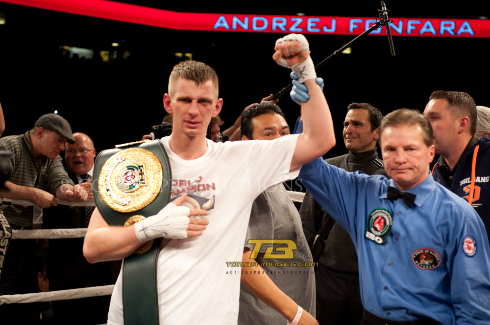 Fonfara vs Karpency IBO Title Fight