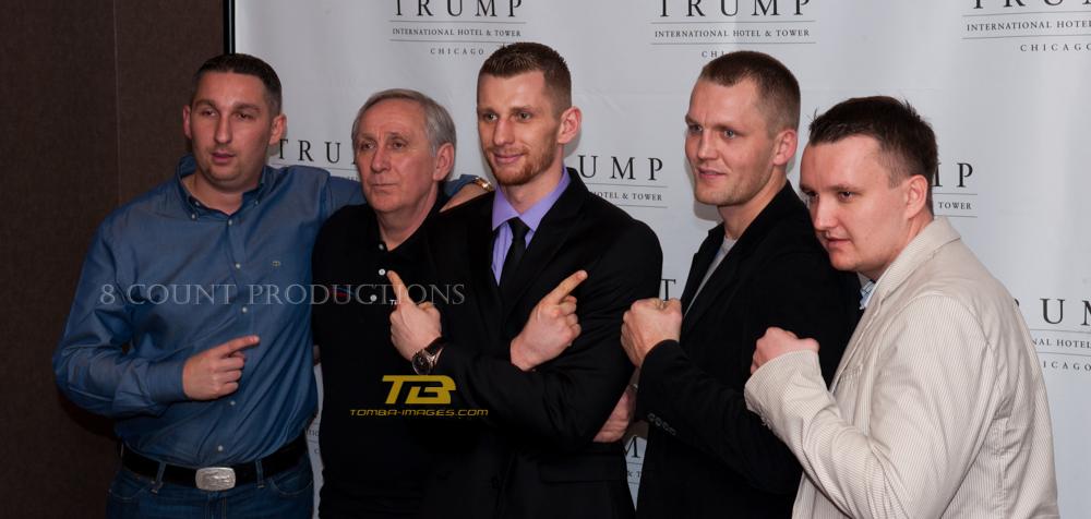 """Fonfara / Karpency """"presser"""" at The Trump Towers"""