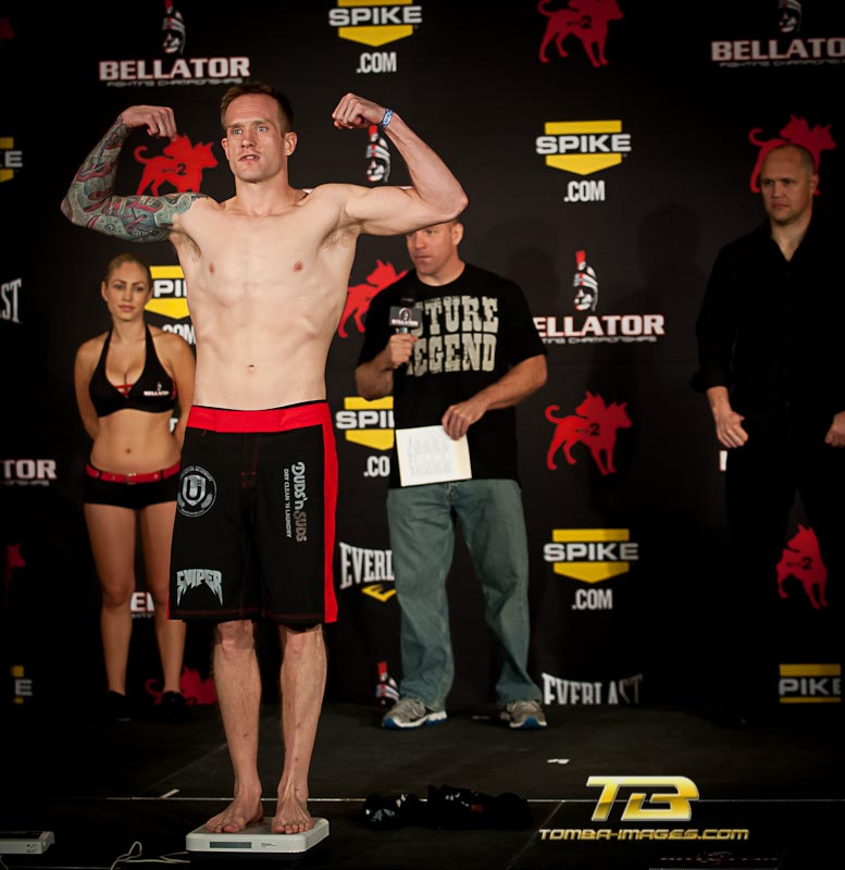 "Bellator #75 Fighting Championships ""weigh-in"""