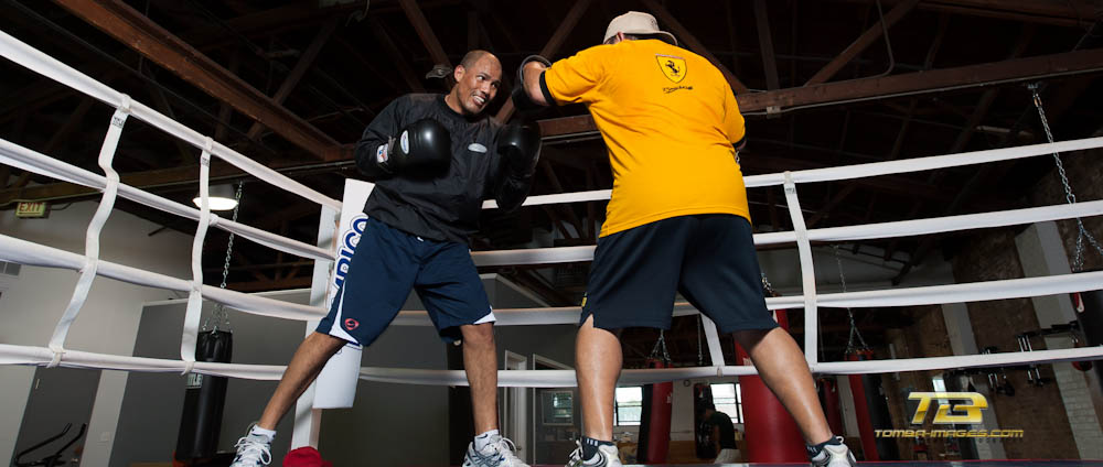 Boxing Legends of the Ring at The New 8-Count Gym