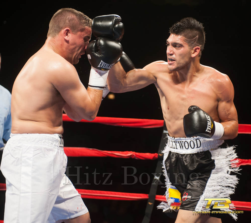 Bobby Hitz Boxing at The Horseshoe