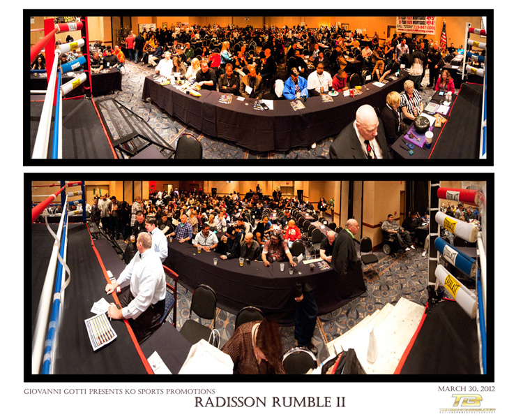 Radisson Rumble II at the Star Plaza