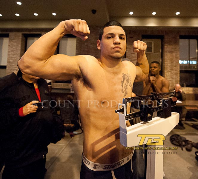 8 Count Productions Windy City Fight Night #21 Weigh-In