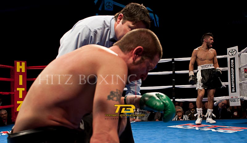 Mike Jimenez vs Bruce Rumbolz at Hitz Boxing