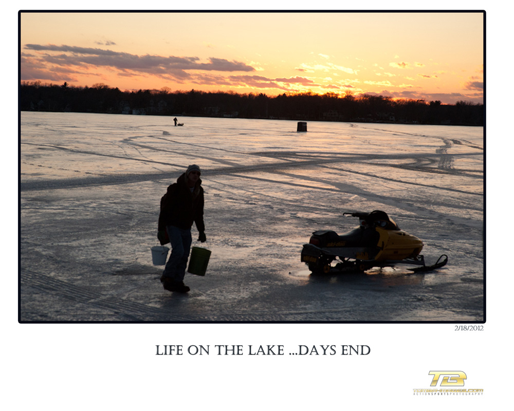 Life on the Lake ..Days end